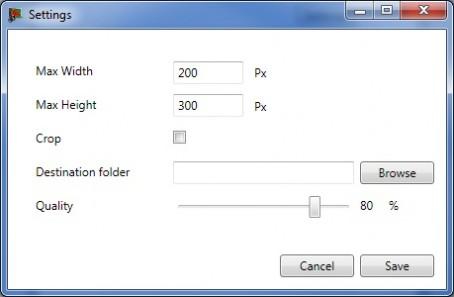 MyPicResizer: slechts enkele klikken om je afbeeldingen te verkleinen