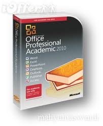 Microsoft Office Professional 2010 Academic